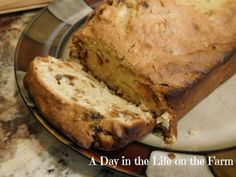 A Day in the Life on the Farm: Apricot Bread #BreadBakers