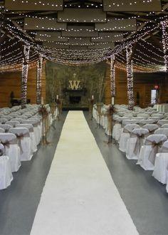 Hillwood Davies Manor Plantation indoor wedding