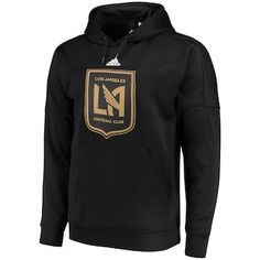 2d3e3db4507 Men s LAFC adidas Black Preferred Patch Pullover Hoodie