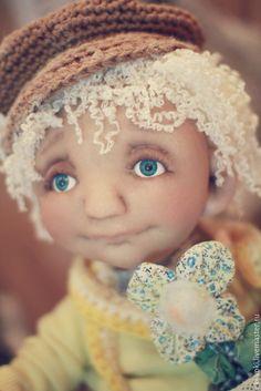 Купить Ромашка - желтый, кукла, подарок на день рождения, солнышко, радость, авторская работа