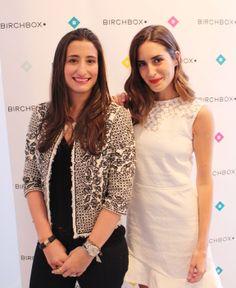 La confundadora de Birchbox Hayley Barna y Gala González en la presentación en Madrid  presentación de la colección de esmaltes Color Club diseñada por Gala: http://birch.ly/1gRX11x