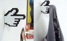 pixel hand hangers