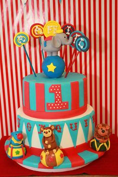 Carnival/Circus Birthday Party Ideas | Photo 5 of 8 | Catch My Party