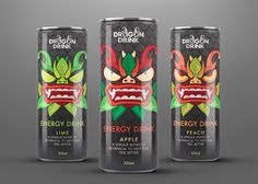 Dragon Drink (Concept) on Packaging of the World - Creative Package Design Gallery