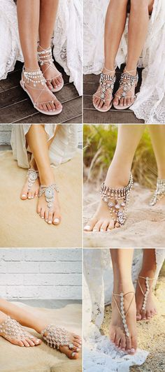 27 Absolutely Gorgeous Shoes For Beach Weddings!