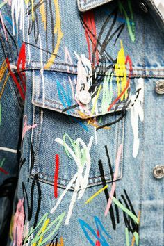 Dior Homme does paint. @thecoveteur
