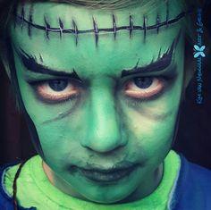 Frankenstein facepaint