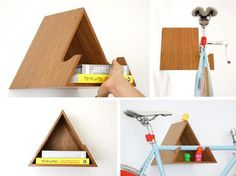 Bike Shelf / Modelo Delta - Design Motriz · Catarse