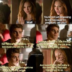 "#TVD 6x04 ""Black Hole Sun"" - Stefan and Elena"