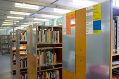 It's Nice That   Loris Pernoux designs moveable and colour-coded identity for university library
