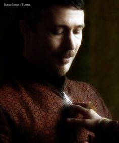 """""""A mockingbird. You created your own sigil, didn't you? Appropriate; for a self-made man with so many songs to sing."""" - Petyr Baelish, Game of Thrones, The North Remembers."""