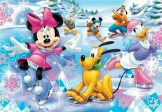 Mickey & Minnie Mouse & Friends