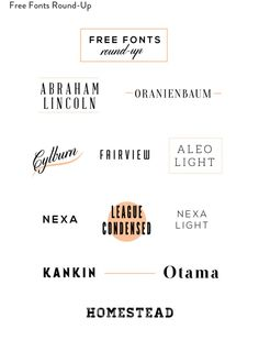 free favorite all caps fonts | Free stuff | Pinterest | Am, I am ...