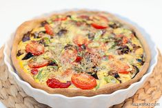 Grønnsakspai fra Provence – en pai for alle Frisk, Quiche, Food And Drink, Baking, Vegetables, Breakfast, Pai, Summer, Morning Coffee