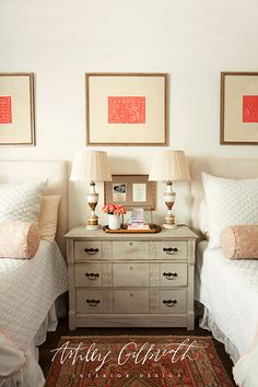 One nightstand with