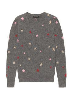 New Banana Republic Cashmere Star Sweater Size XS womens Sweaters. Fashion is a popular style Fall Sweaters, Cashmere Sweaters, Sweaters For Women, Petite Size, Fall Winter Outfits, Grey Sweater, Banana Republic, Tees, Sweatshirts
