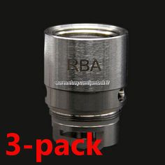 Authentic Sense Blazer 200 RBA Coil Heads (3-Pack) #Original