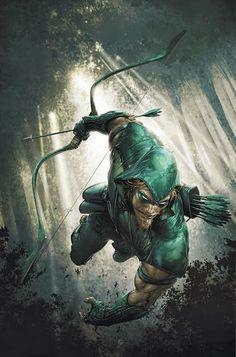 Comic Art: Green Arrow