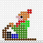 Deze kralenplank en vele andere in het thema winter kun je vinden op de website van Juf Milou. Projects For Kids, Diy For Kids, Craft Projects, Beaded Crafts, Beaded Ornaments, Christmas Tree Crafts, Homemade Christmas, Winter Activities For Kids, Diy Perler Beads