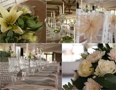 wedding photography , cream and white decor