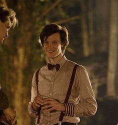brilliantclara:  This picture is for me one of the cutest snapshots of Matt Smith ever