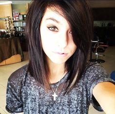 Want this haircut. Christina Grimmie.