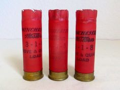 A personal favorite from my Etsy shop https://www.etsy.com/listing/488916952/10-red-shotgun-shells-for-only-20-cents