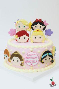 Tsum Tsum Mickey Friends Cake for Babys Hundred Days