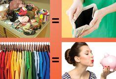 #SOSorganização -Sabia que a bagunça pode sair caro?    Calcule o tempo que você gasta todo dia procurando objetos, documentos, acessórios perdidos ou misturados, passando roupas na hora de sair porque estavam amassadas no armário e assim por diante.    Imagine que você perde todos os dias 15 minutos. Agora vamos supor que você ganhe R$ 20,00 por hora, isso significa R$ 5,00 por dia, ou seja, ao final do ano a bagunça terá custado R$ 1825,00. Pense nisso!    #tempoédinheiro #produtividade…