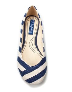 stripey flats - I WISH I had a wardrobe that would allow these beauties in!