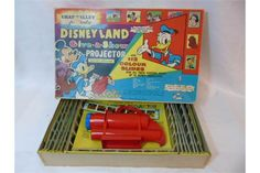Chad Valley Disney land slide projector
