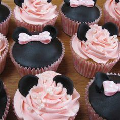 Cupcakes - Mickey mouse