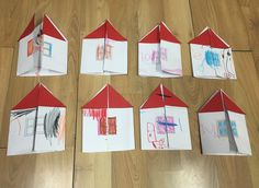 Knock, knock! Who's there? It's my family! This week we made our very own house and inside it is each of our family members! So cute! Open it up and look inside! You may need: Whi…