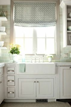 a room somewhere: sunny kitchen