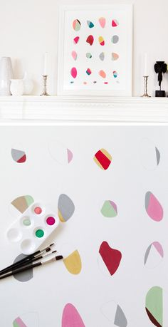 Make Your Own Colored Pebble Wall Art | Click Pic for 36 DIY Wall Art Ideas for Living Room | DIY Wall Decorating Ideas for the Home