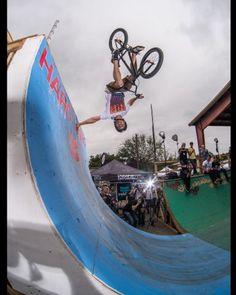Gallery -- 2013 Odyssey BMX Texas Toast Jam Day 1 - X Games- flair handplant