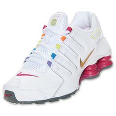 Girls' Grade School Nike Shox NZ Running Shoes | FinishLine.com | Rainbow
