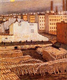 City-1904 // mstislav-dobuzhinsky