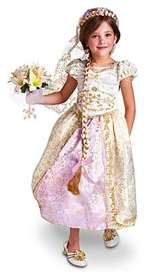 Girls Rapunzel Outfit (Wedding Collection)
