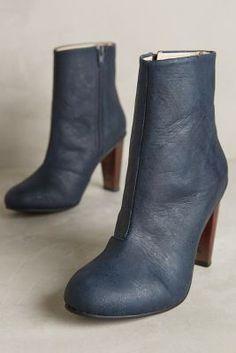 Sydney Brown Copper Heel Booties