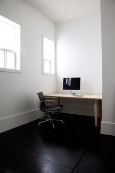 """~SPACE: FEELING EXPOSED~ WHY: The room is empty and baron.  Not good for someone who has paranoia. DEFINE: A room design that involves the """"use"""" of empty spaced.  It is good for guest rooms or studies."""