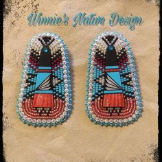 Just sharing a complete order. Beaded Earrings Native, Beaded Earrings Patterns, Bead Earrings, Beading Ideas, Beading Projects, Beading Patterns, Bead Embroidery Jewelry, Beaded Embroidery, Beaded Jewelry
