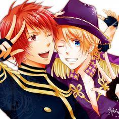 Uta No☆prince-sama♪ Ittoki Otoya and Kurusu Shou are my favorites, for sure.