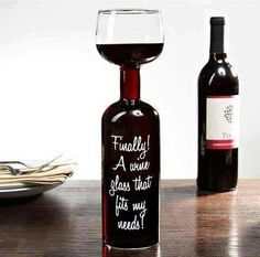 Wine Glass for real wine lovers
