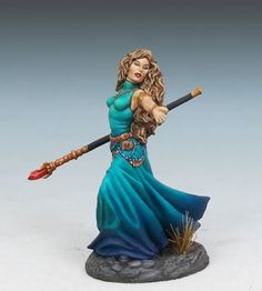 Female Mage with Staff - Featured