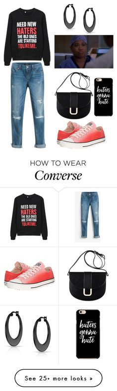 """Need New Haters"" by naviaux on Polyvore featuring White House Black Market, Converse, A.P.C. and Bling Jewelry"