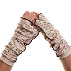 Wuthering Heights Writing Gloves