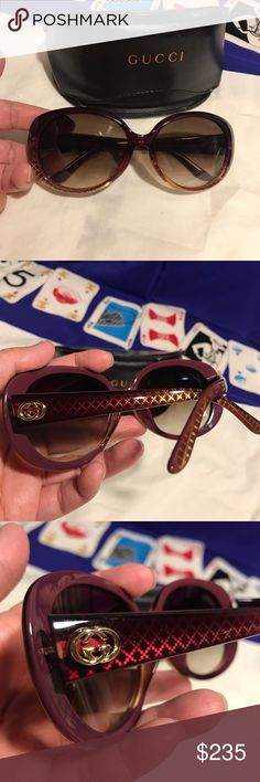 426f9792333 Authentic Gucci sunglasses Preowned Authentic Gucci sunglasses is in great  condition! No scratches in the