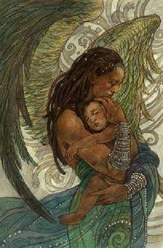 Guardian Angel ~Rebecca Guay