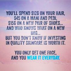 Use your Rodan and Fields regimen twice each day to get the best skin of your life
